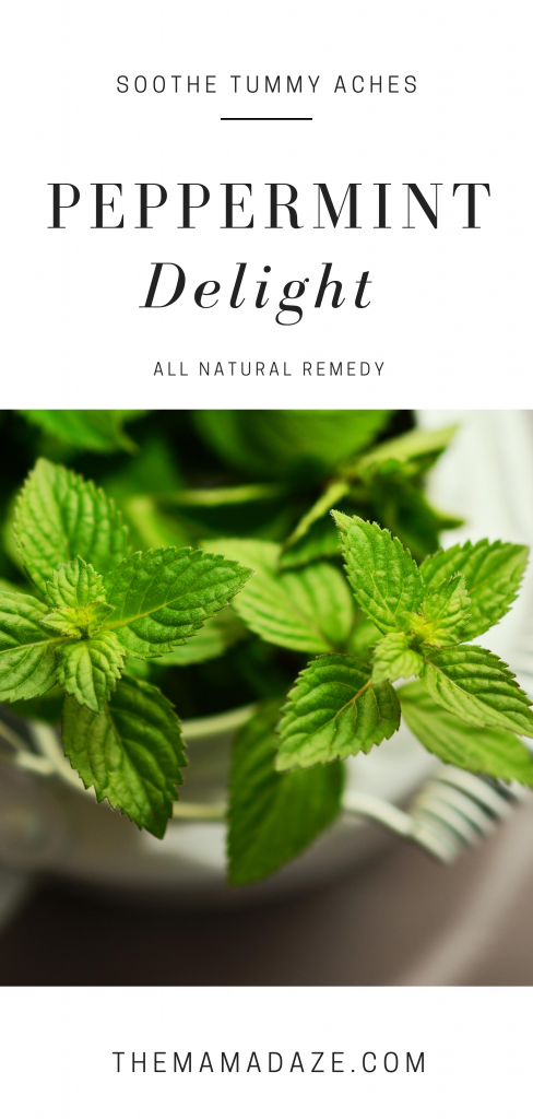 peppermint has so many ways to naturally heal your body - including tummy aches - the mama daze