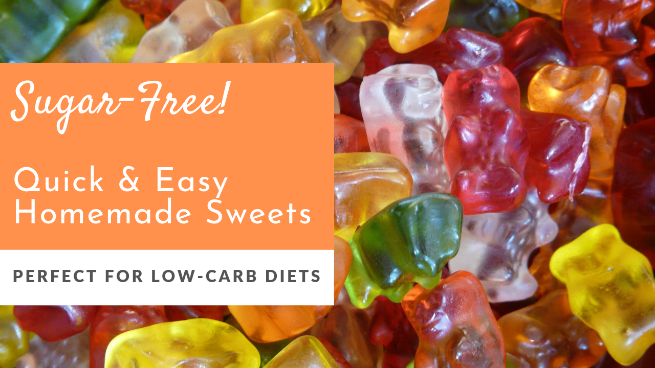 Delicious sugar-free sweets that are quick and easy to make. They're ideal for toddlers, plus a perfect sweet treat if you're on a low card diet like Keto or Atkins - get the recipe and watch the video at www.themamadaze.com