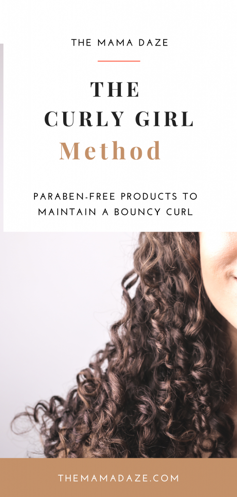 The Curly Girl Method on Frizzy hair - the mama daze